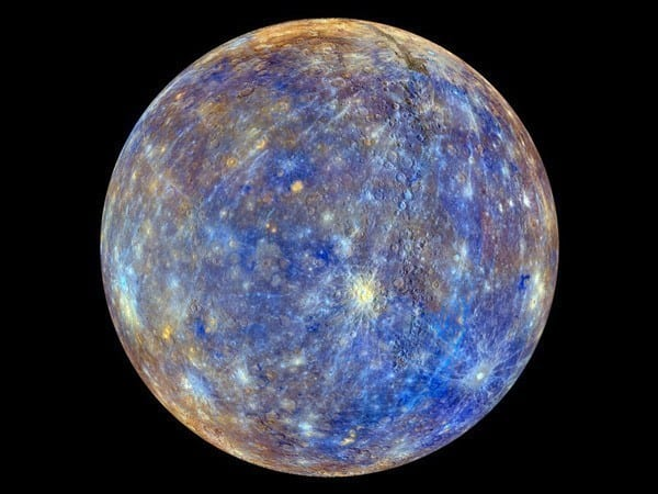 -The most vivid and clear image to date of Mercury displaying the incredible colors and beauties of one of the most mysterious planets in our solar system.