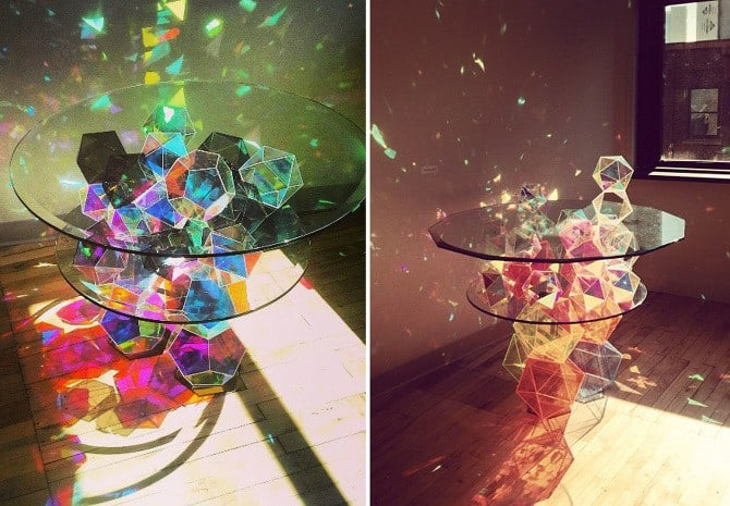 15 Mind Blowing Crystal, Glass, And Wooden Tables