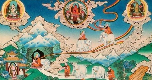 Here's A Tibetan Map Of The Path To Enlightenment