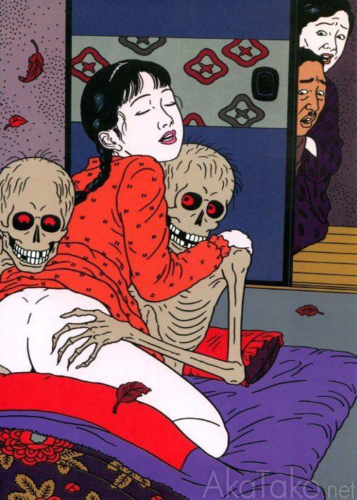 Toshio-Saeki-Art-44