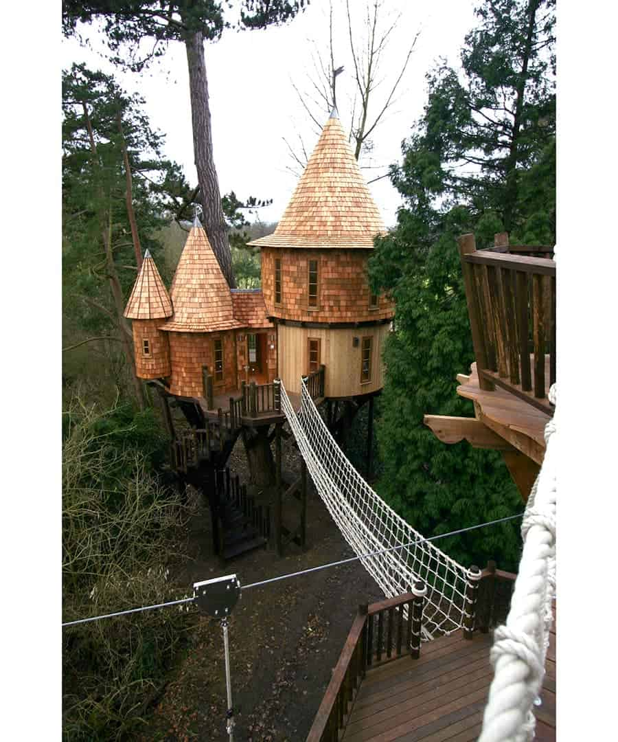 Awesome Tree Houses: 10 Of The Most Amazing Treehouses From Around The World