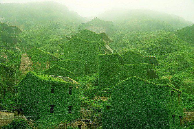 Abandoned Village, Goqui Island, Shengsi, Zhoushan
