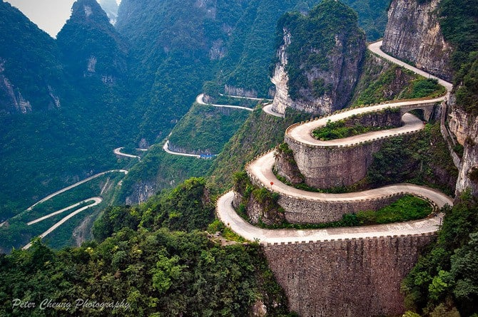 Road To Tianmen Mountains, Zhangjiajie