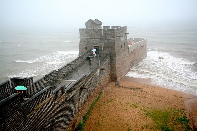 Where The Great Wall Ends