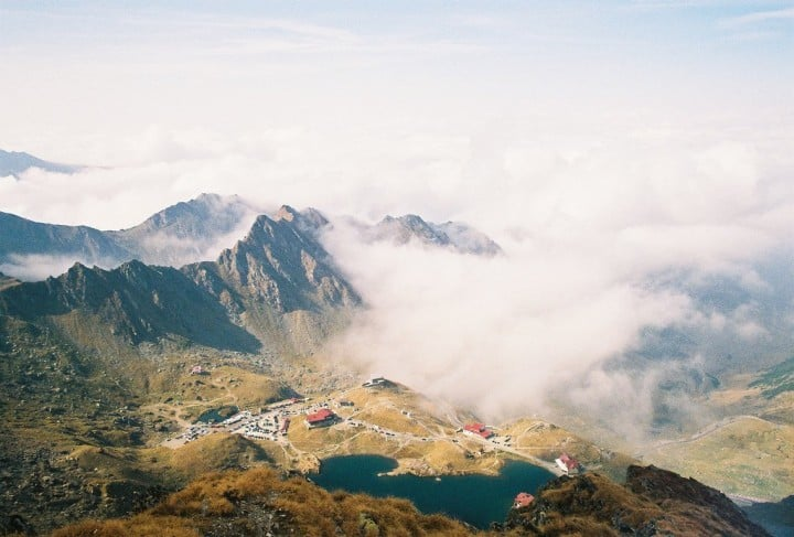 Balea Lake, Transylvania, Romania by Kiki Vasilescu