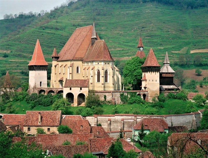 Biertan Fortified Church, Transylvania, Romania by Otto Schemmel