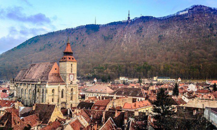 Brasov, Transylvania, Romania by Andrew Colin