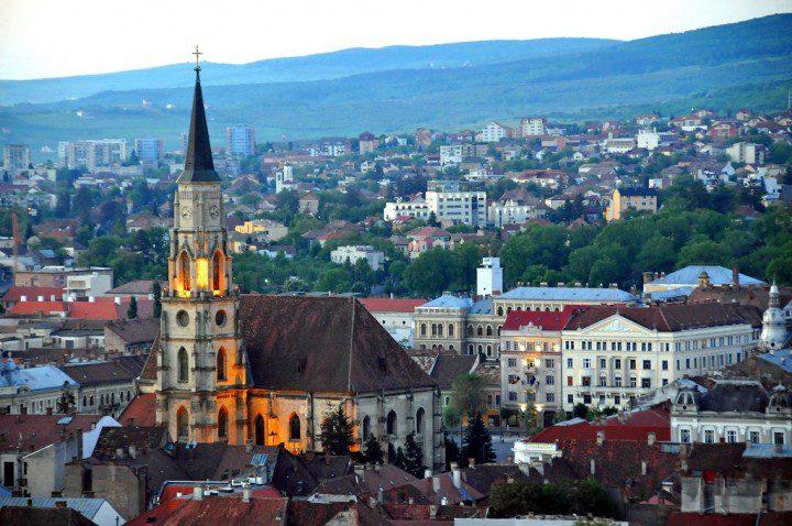 Cluj Napoca, Transylvania, Romania by Dennis Jarvis