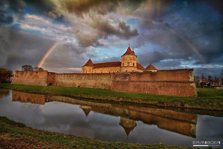 Fagaras fortress, Transylvania, Romania by Ervin Boer