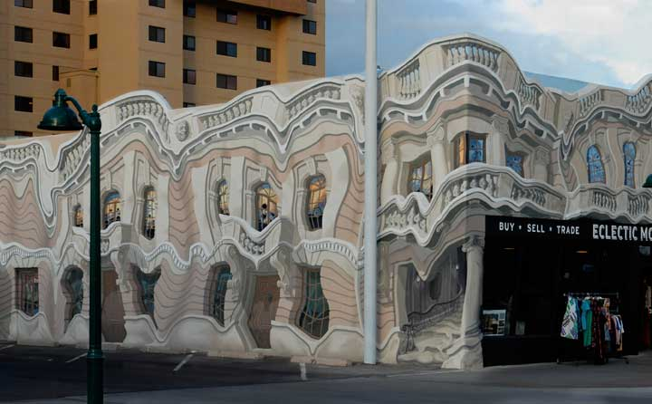 Melting Point Mural by the Mural Mice in Mesa, Az brings attention to Global Warming
