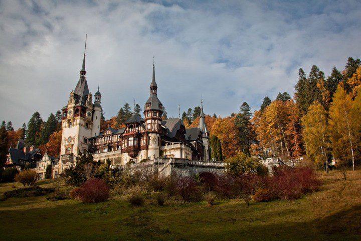 Peles Castle, Transylvania, Romania by Magda Constantin