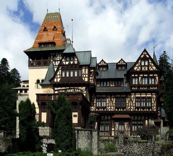 Pelișor Castle, Transylvania, Romania by Pudelek