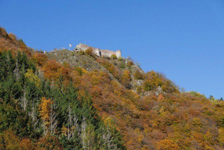 Poenari fortress, Transylvania, Romania by Andrei Dimofte