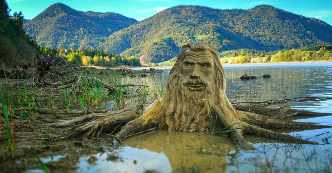 This Artist Brings Nature Spirits To Life In Parks Across Slovenia