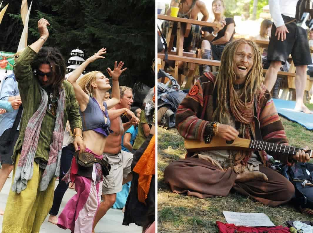 From Steve Shapiro's Bliss: Transformational Festivals & the Neo Hippie.