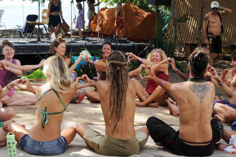 Hippies of the 21st Century Don't Need Drugs. They Just Meditate.