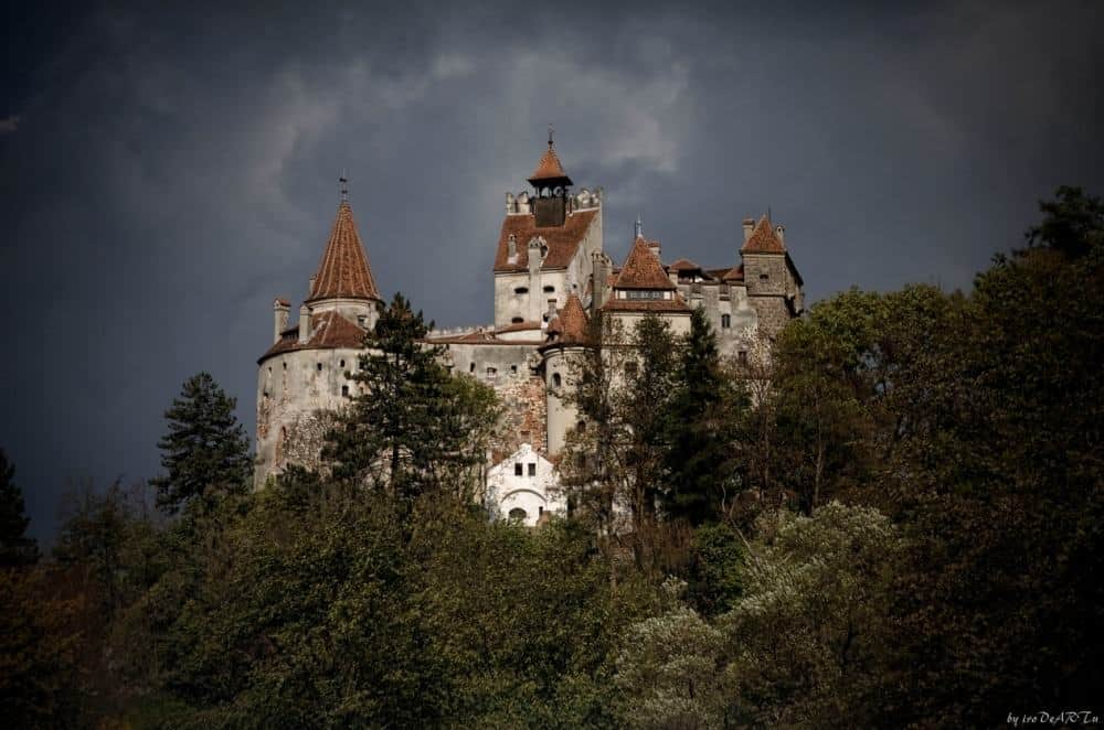 © ivo deart Bran Castle, known as Dracula's Castle.