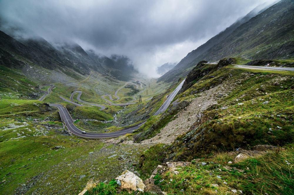 © Ben Taylor The Transfagarasan Highway, in Transylvania.