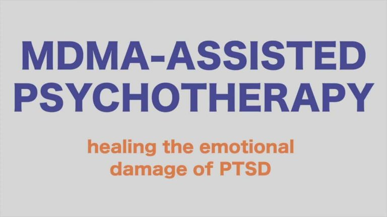 MDMA – Assisted Psychotherapy