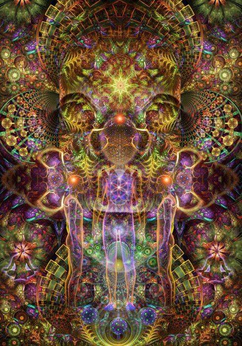 DMT Beings – often seen in the Ayahuasca space
