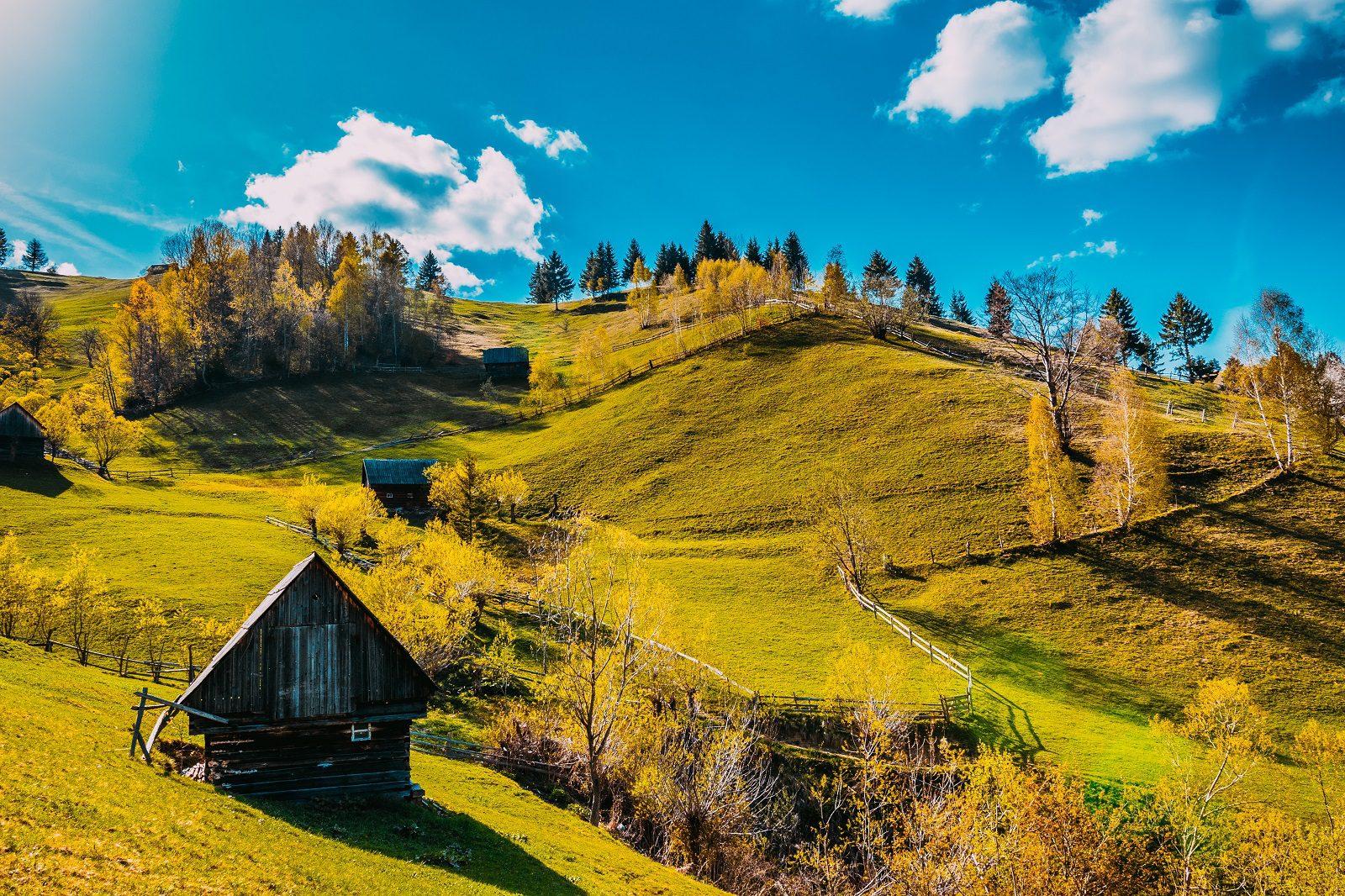 Moeciu de sus Romania