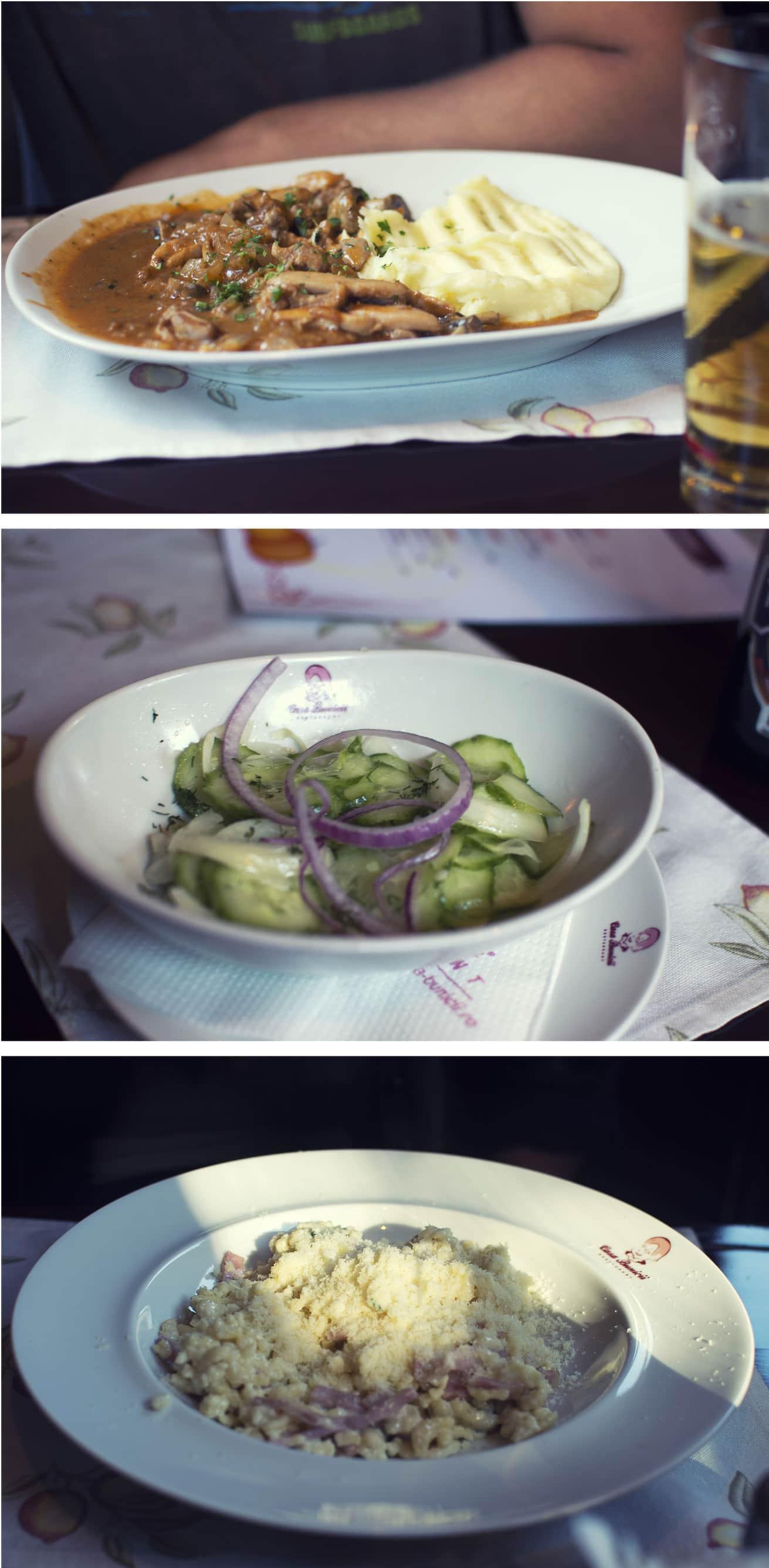 Travis' Birthday lunch in Timisoara