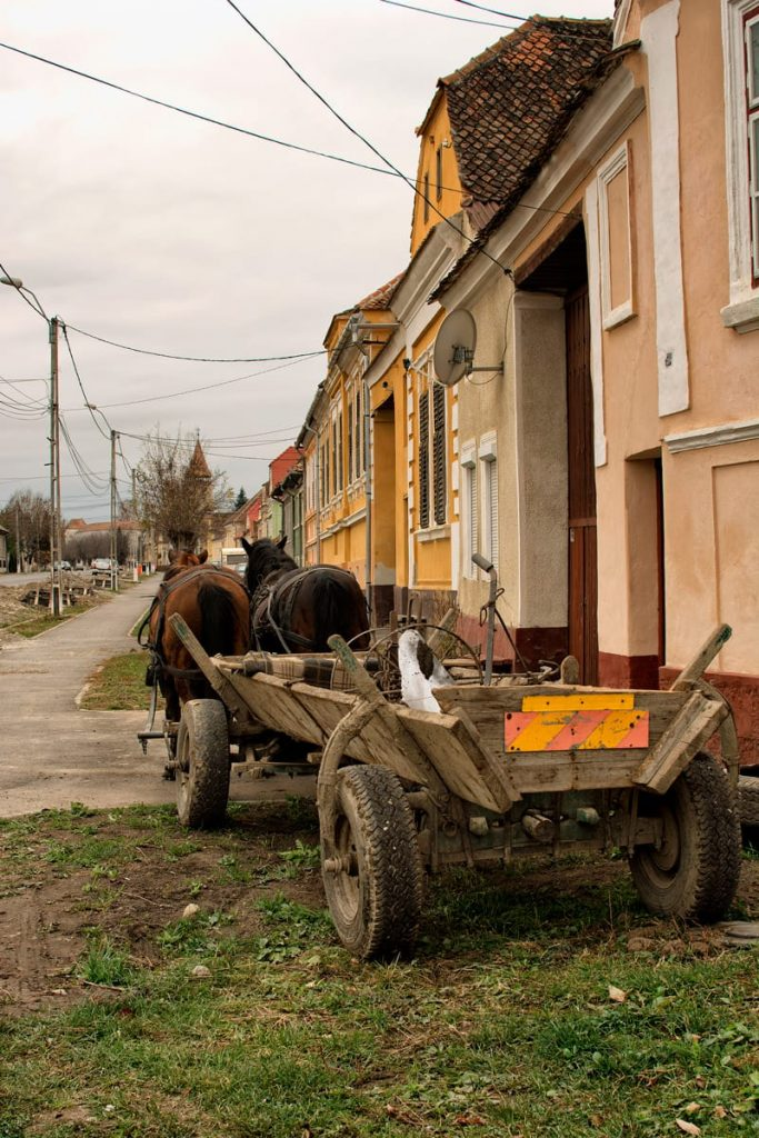 Transportation you are still likely to see in Transylvania