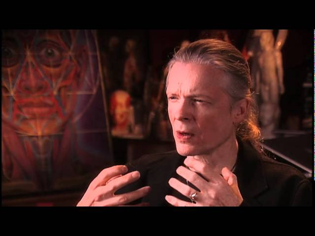 Alex Grey Describes How His First DMT Experience Takes Him Inside His Own Painting