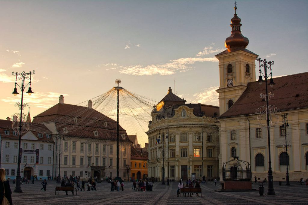 Piata Mare is one of the most beautiful in all of Romania