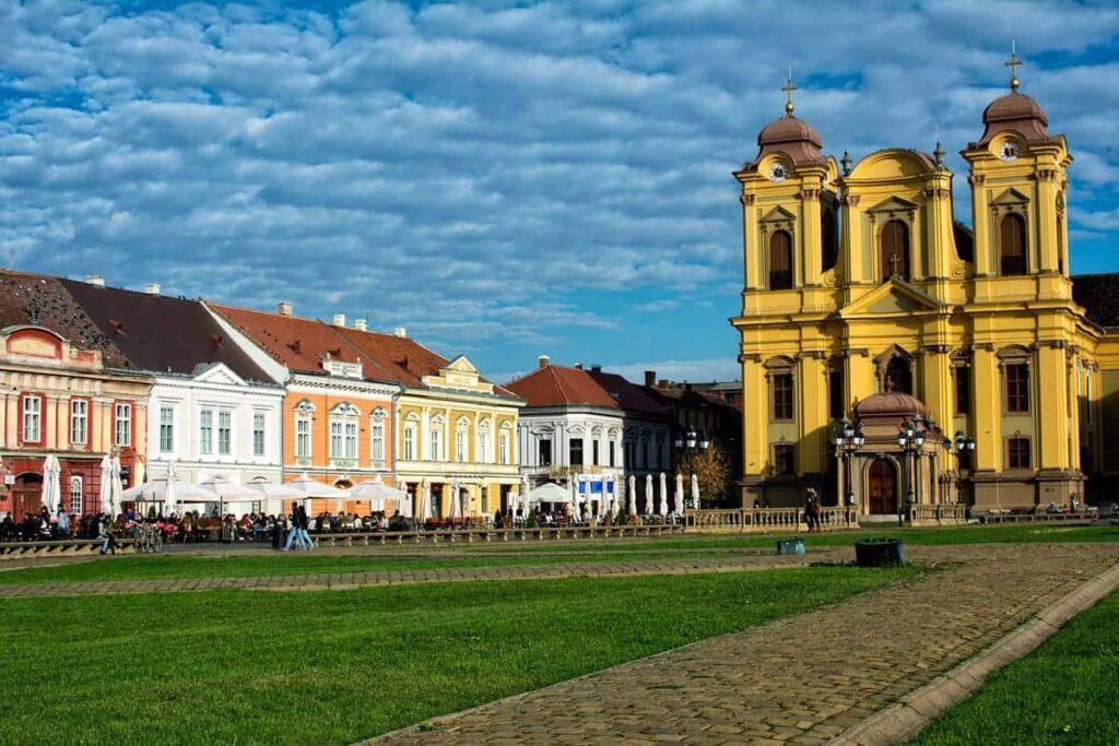 Piata Unirii – Just one of Timisoara's great town squares.