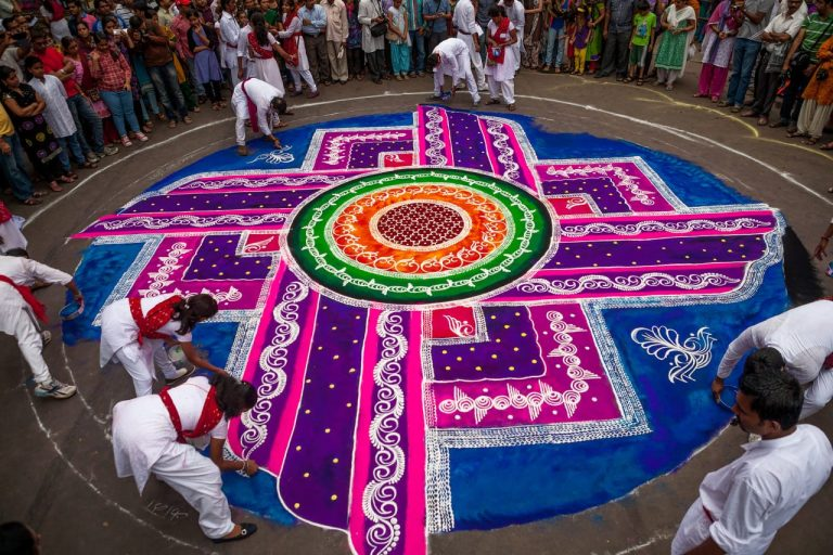 The Beautiful And Ancient Indian Art Of Rangoli