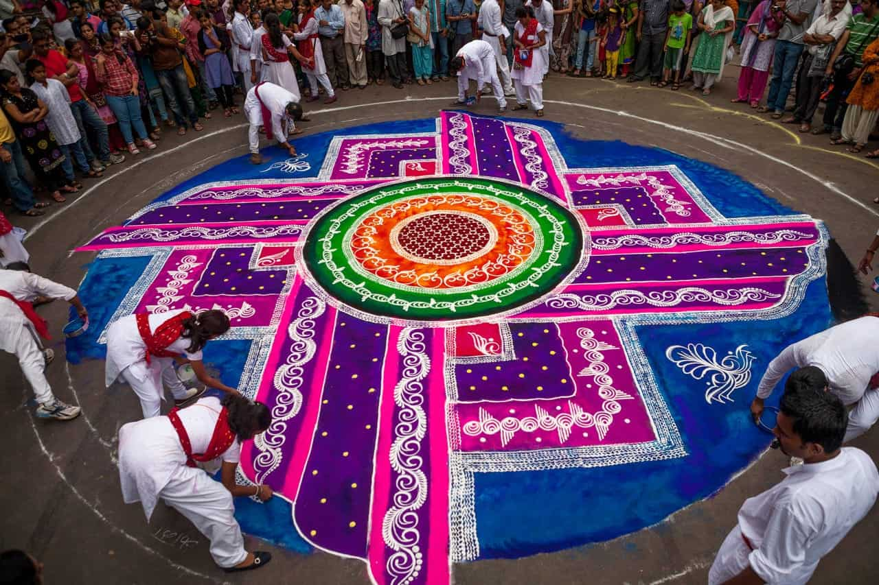 The Beautiful And Ancient Indian Art Of Rangoli – Sociedelic