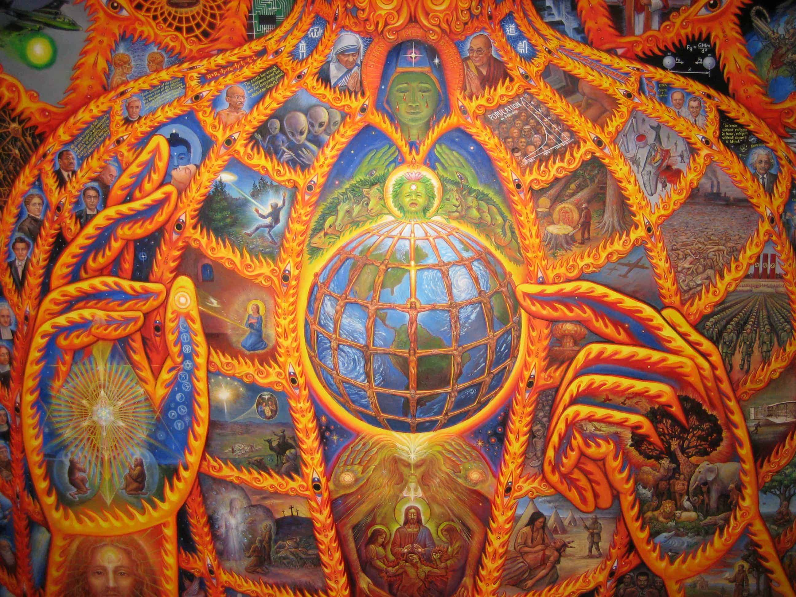 Psychedelic Spirit Paintings Alex Grey Art Gallery: The 9 Personalities Which Are Changing The World
