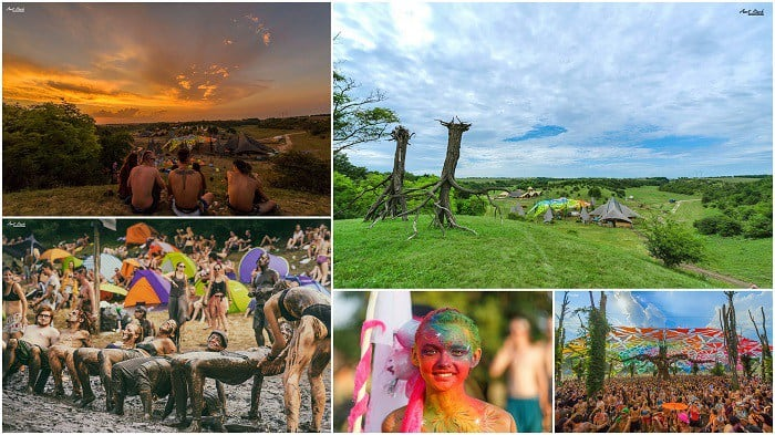Ozora Festival Hungary – Photo: Amit Itach Photography and Shahar Ratzenberg, body paing: Bodypaintlily