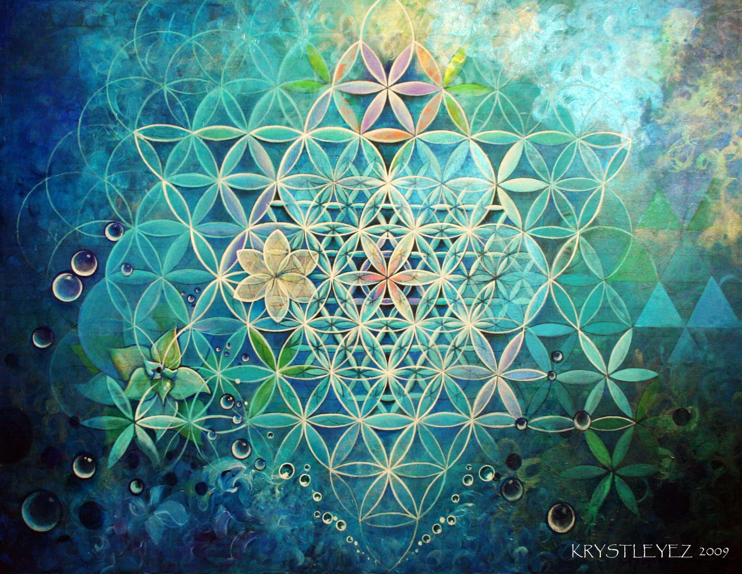 Visionary art and sacred geometry sociedelic - Meditation art wallpaper ...