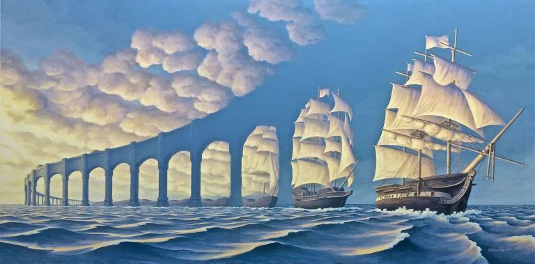 Robert Gonsalves – Surrealist Painter Picks Up Where Dalí Left Off