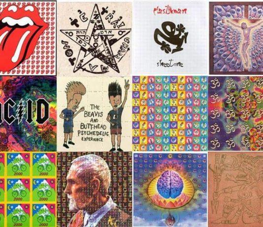 LSD blotter art