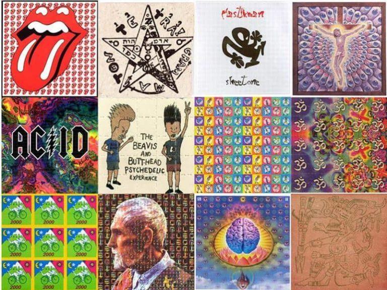 LSD blotter art – How illegal drug distribution turned into art