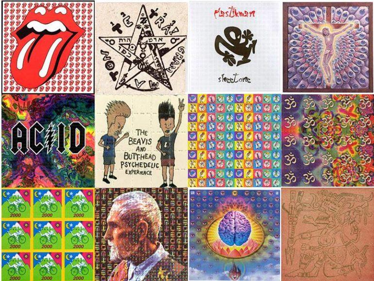 lsd blotter art how illegal drug distribution turned into art