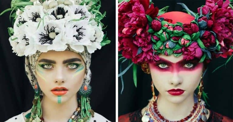 Polish Artists Recreate Traditional Slavic Wreaths To Keep Old Traditions Alive