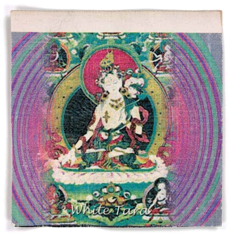 White Tara, 2003. (via Blotter Barn)