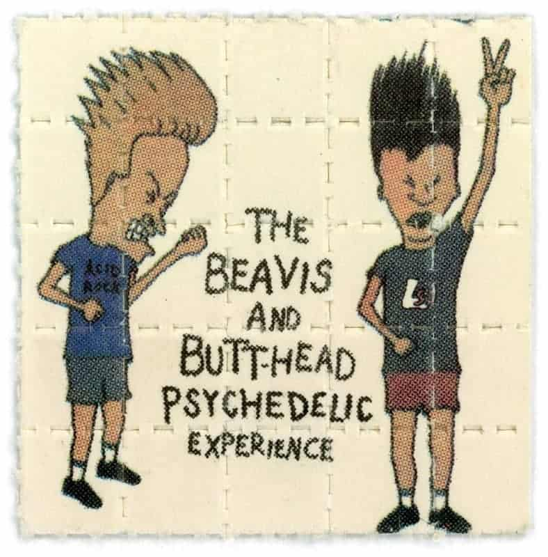 Beavis and Butthead, unknown. (via Blotter Barn)
