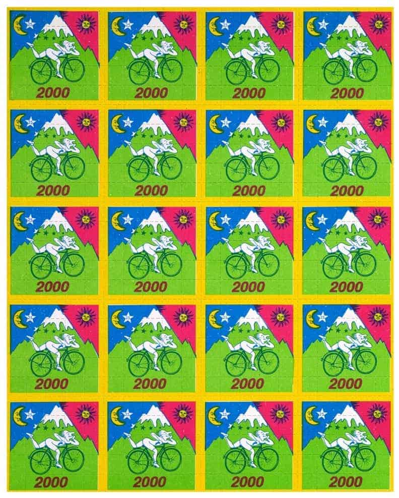 Bicycle Ride, 2000. (via Blotter Barn)
