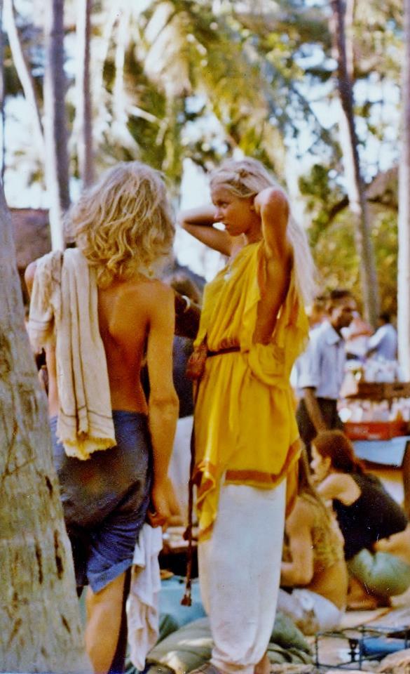 Anjuna Flea Market, mid 1970s (Photo credit unavailable).