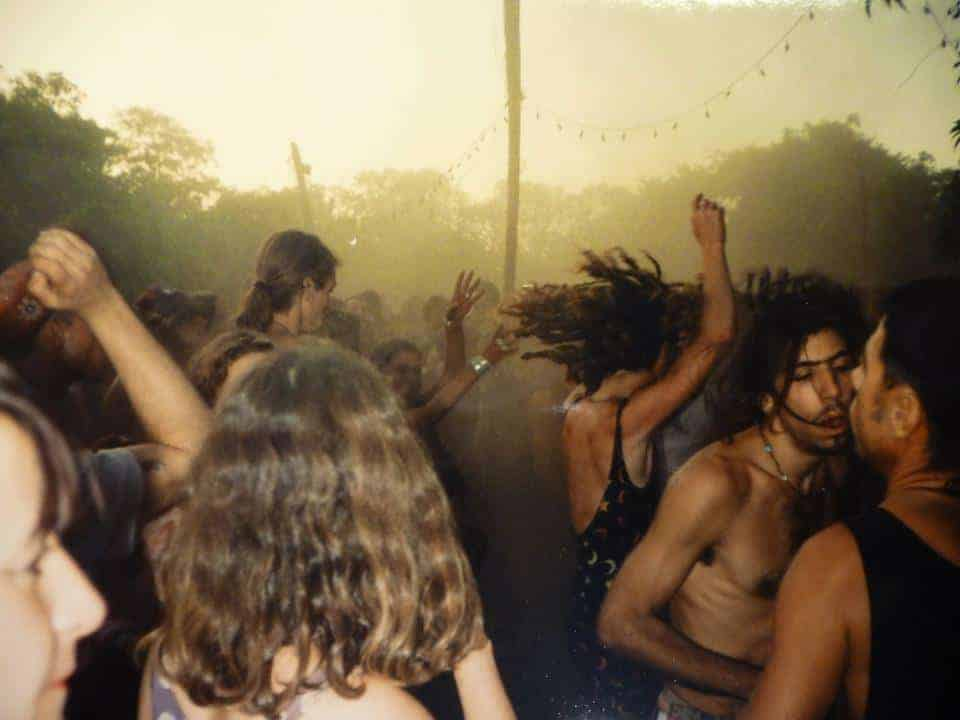 Anjuna, Goa, 1993. (Photo by Lukas Rydholm).