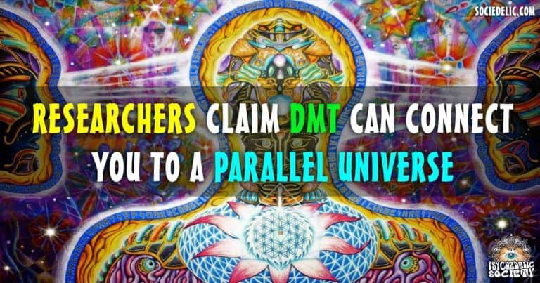Scientist Claims DMT Can Connect You To A Parallel Universe