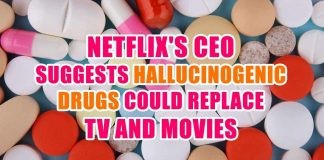 Netflix's CEO Suggests Hallucinogenic Drugs Could Replace TV and Movies