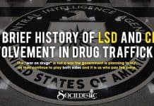 A brief history of LSD and CIA involvement in Drug trafficking