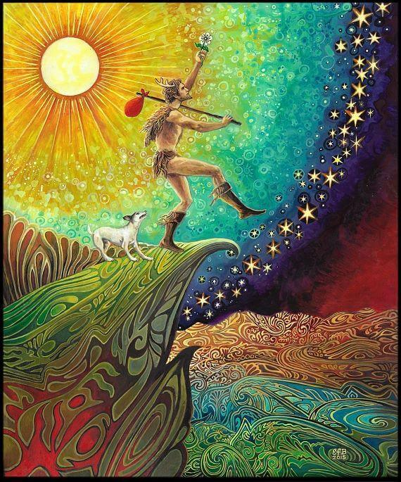 Image: Art by Emily Balivet - Fool