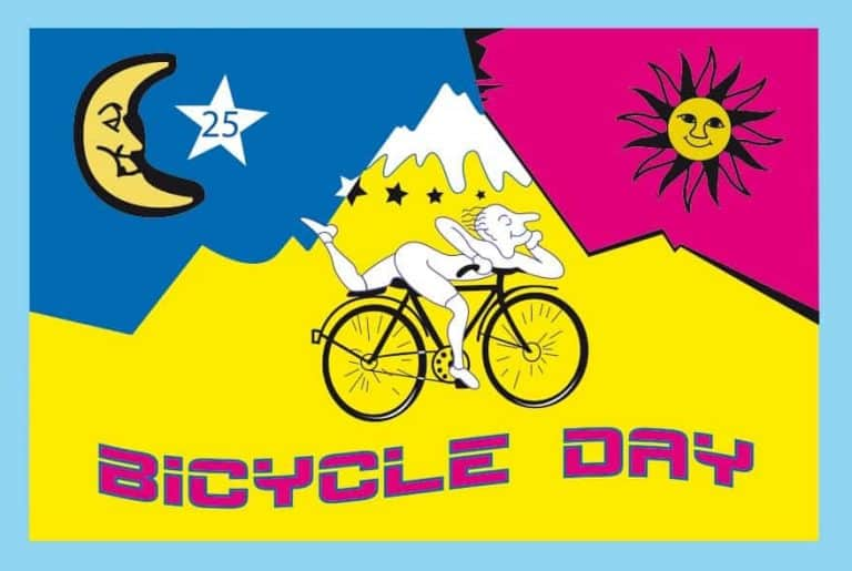 Bicycle Day is April 19 – The day when Albert Hofmann has discovered LSD